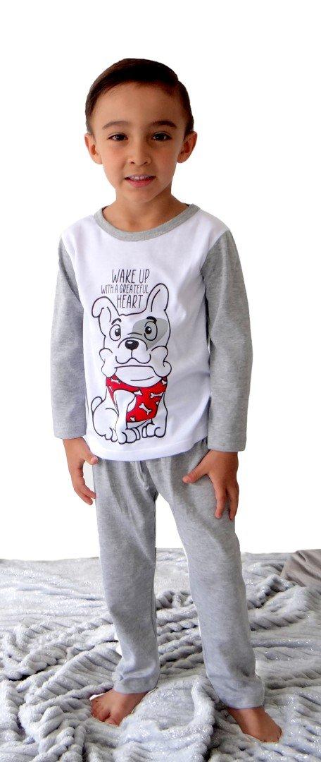 Pijama perros niño escenario